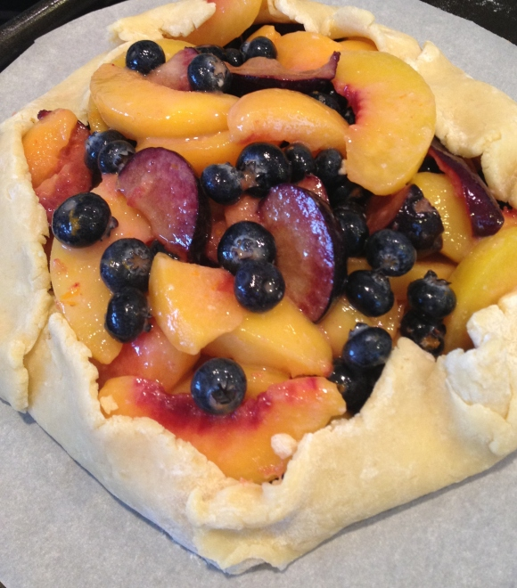 Summer Fruit Crostata, part one by Alex Mendez.