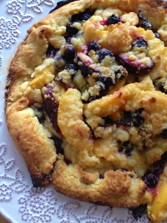 Summer Fruit Crostata, Part two by Alex Mendez