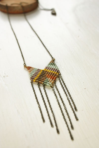 Win a chevron Necklace from www.surdesignstudio.com